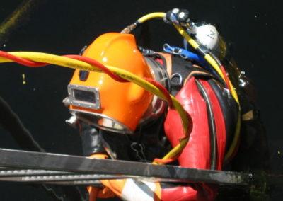 Construction diving