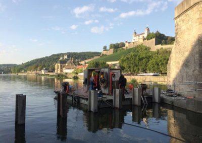 Beräumung Abdichtung Wehr Würzburg