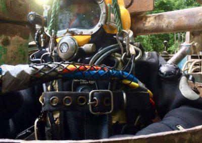Unterwasserschweißarbeiten Bergung Brunnenrohr Berlin